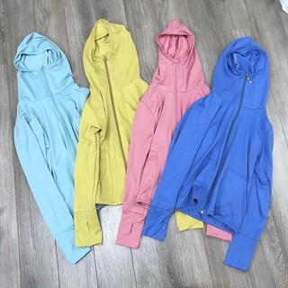 áo khoác nắng ngắn