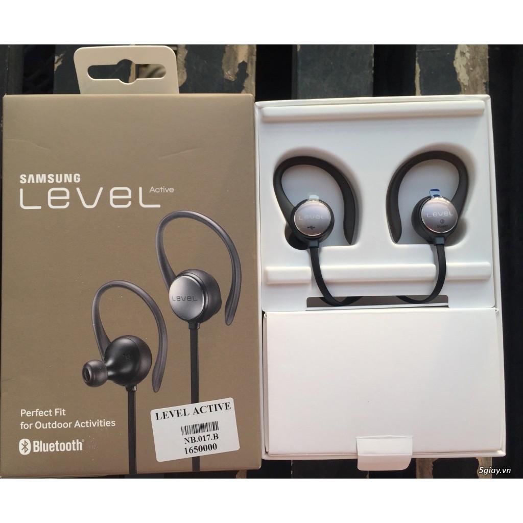 Kết quả hình ảnh cho Tai nghe Bluetooth chính hãng Samsung LEVEL Active