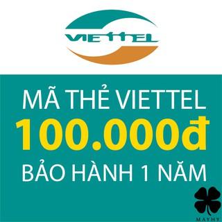 Mã Thẻ Điện Thoại Viettel 100.000