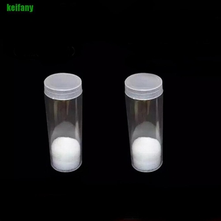 [kei] 1pcs 27mm Applied Clear Round Cases Coin Storage Protective Tube Holder Plastic hwLL