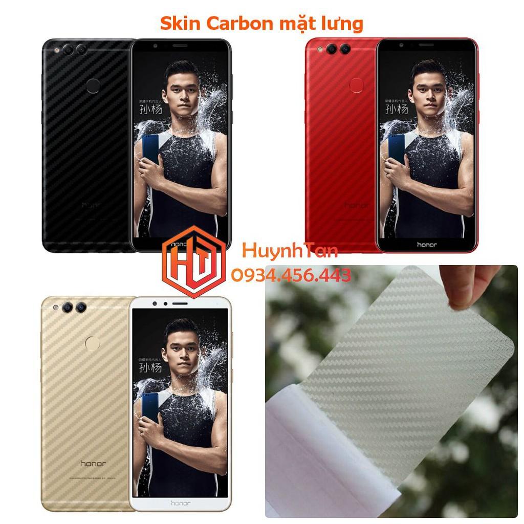 Huawei Honor 7X _ Dán carbon mặt sau (không gồm cạnh)