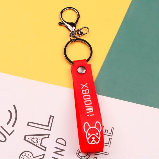 Dây chìa khóa, móc khoá PVC cao cấp thương hiệu XBoom