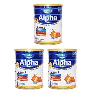 Sữa Bột Dielac Alpha Thường Đủ Số 1,2,3,4 lon 900g và 1,5kg [ date mới nhất ] thumbnail