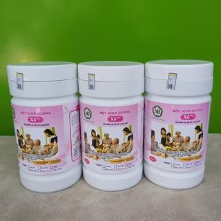 2 BỘT DINH DƯỠNG X5 – cho cả gia đình được làm từ ngũ cốc nảy mầm,whey protein, sữa, bột kem thực vật, betaglucan .