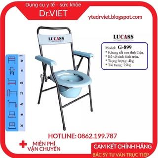 Ghế bô vệ sinh Lucass G-899- Ghế bô vệ sinh cho người già, bà bầu, bệnh nhân không phải đi nhà vệ sinh vất vả, khó khăn thumbnail