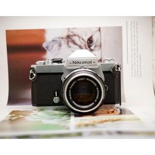 Máy ảnh film Nikon Nikomat FT2 Silver