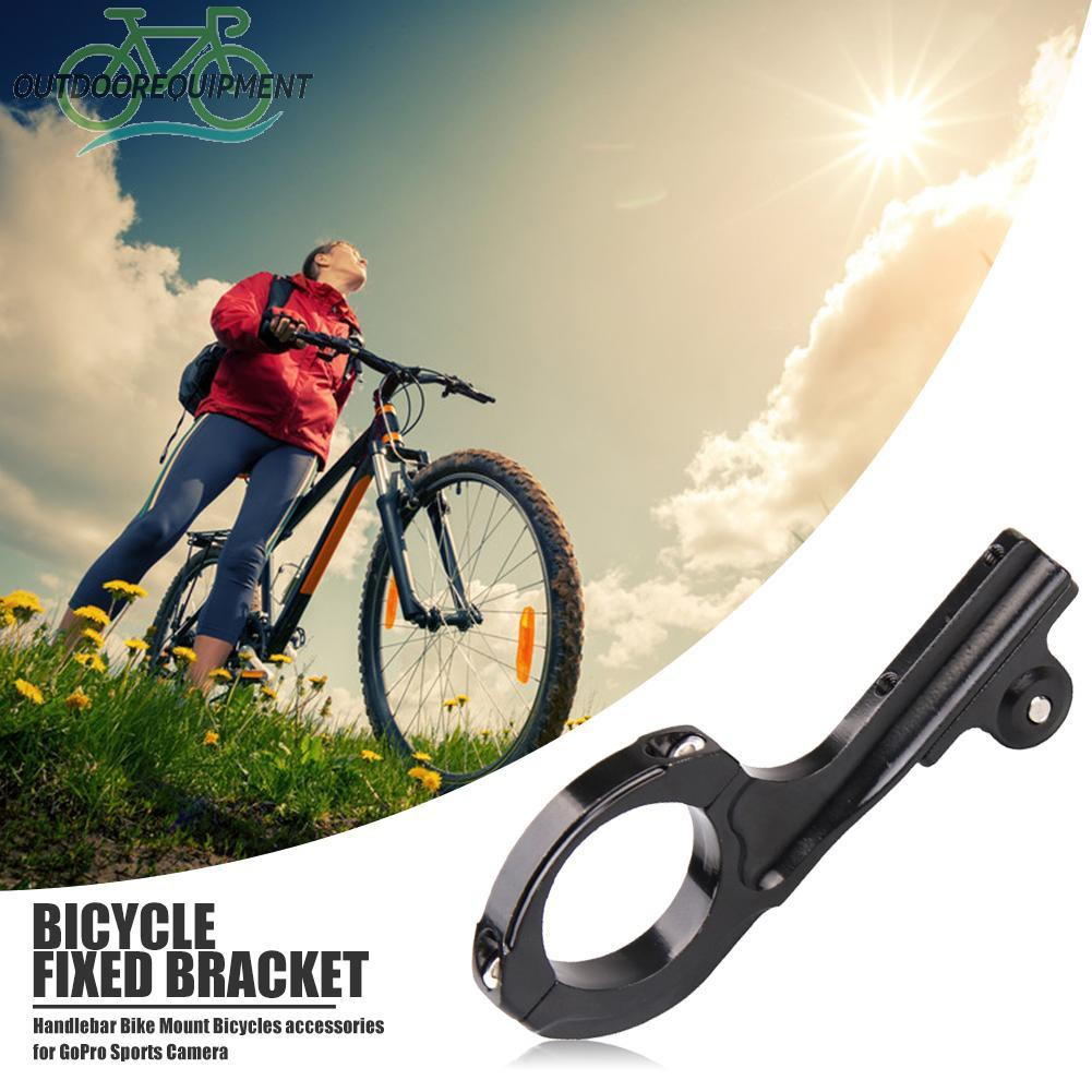 ♧Q Shape MTB Bicycle Handlebar Mount Clamp Bracket Holder for GoPro Sports Camera♧