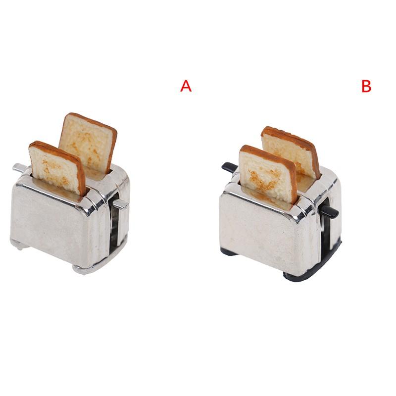 Máy Bánh Mì Đồ Chơi Mini Tỉ Lệ 1: 12 Cho Nhà Búp Bê