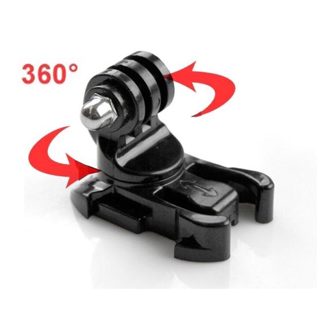 Mount gài xoay được 360 độ cho GoPro, Sjcam, Yi Action, Osmo Action