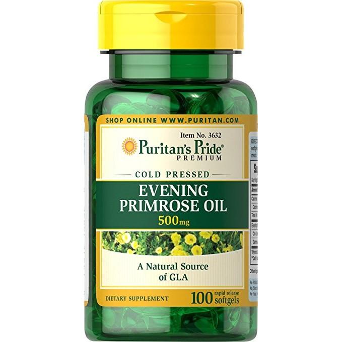 Tinh dầu hoa anh thảo Evening Primrose Oil 500mg