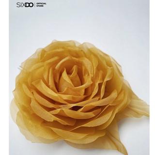Hoa cài SIXDO Brown Veli Flower 6AF030