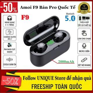 Tai nghe Bluetooth AMOI F9 PRO Nút Cảm Ứng Cực Nhạy, Bluetooth 5.0 Chống Kháng Nước Cực Tốt