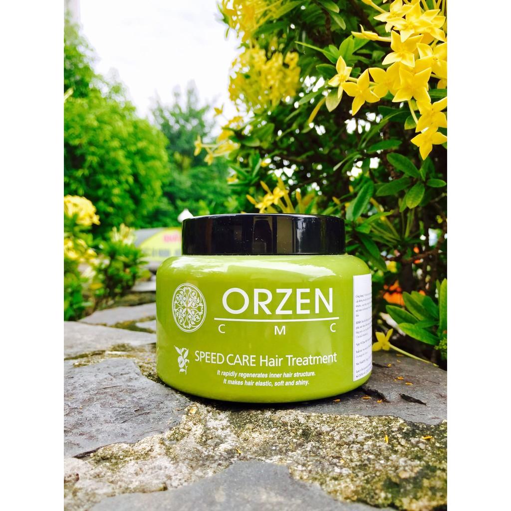 Dầu hấp ủ tóc Orzen phục hồi tóc siêu tốc 300ml - 2882992 , 1083471643 , 322_1083471643 , 420000 , Dau-hap-u-toc-Orzen-phuc-hoi-toc-sieu-toc-300ml-322_1083471643 , shopee.vn , Dầu hấp ủ tóc Orzen phục hồi tóc siêu tốc 300ml