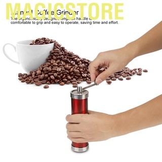 Magicstore Household Portable Stainless Steel Manual Coffee Mill Grinder Hand Crank Grinding Machine Kitchen