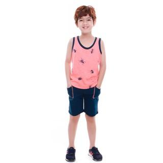 Bộ quần áo bé trai Narsis KE9041 cổ tròn thumbnail
