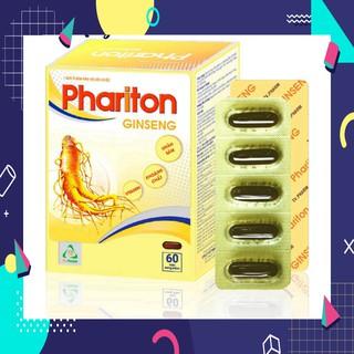 »» Thực phẩm bảo vệ sức khỏe PHARITON GINSENG – Bổ sung Vitamin, Khoáng chất và Nhân sâm cho cơ thể (60 viên)
