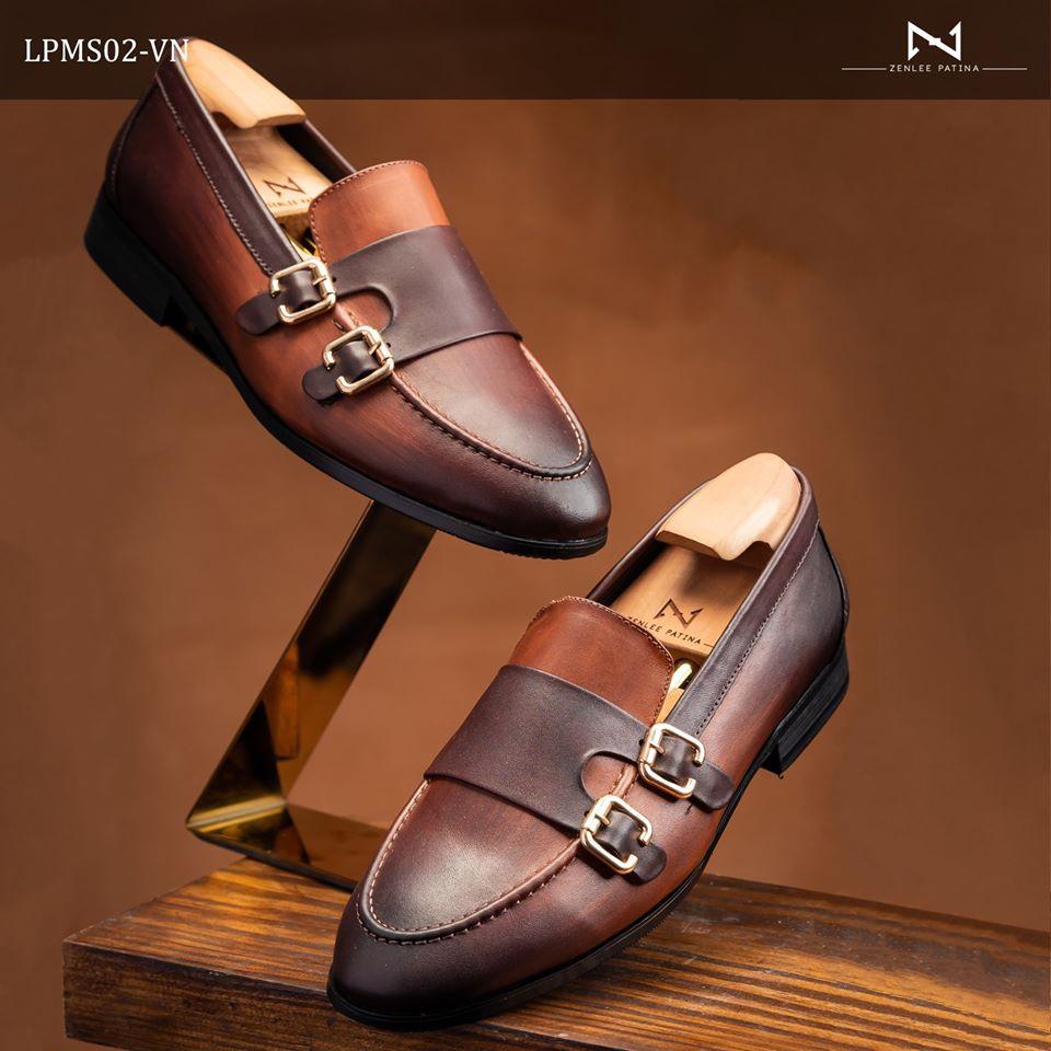 Giày Âu Thủ Công Zenlee patina - Mã: LPMS02_VN