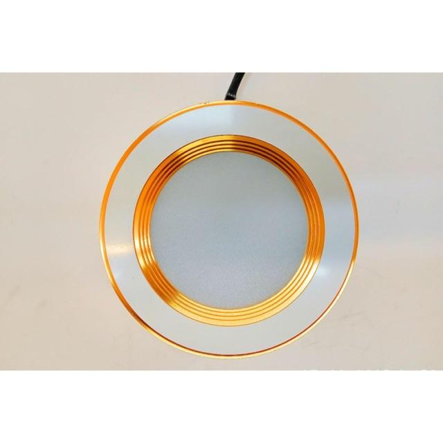[SALE 10%] Đèn led âm trần 7W 3 màu