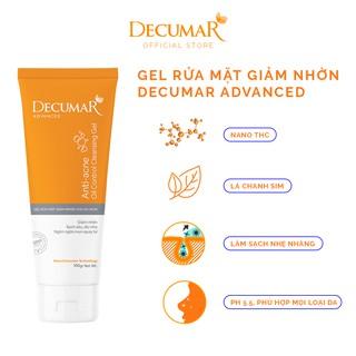Sữa rửa mặt dạng Gel Decumar Advanced 100gr kiểm soát nhơn mụn hoàn toàn mới