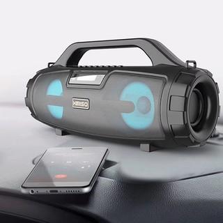 Loa Bluetooth Karaoke Xách Tay KIMISO S3 Di Động - Loa Bluetooth Mini Âm Bass Cực Hay Đèn Led Sống Động
