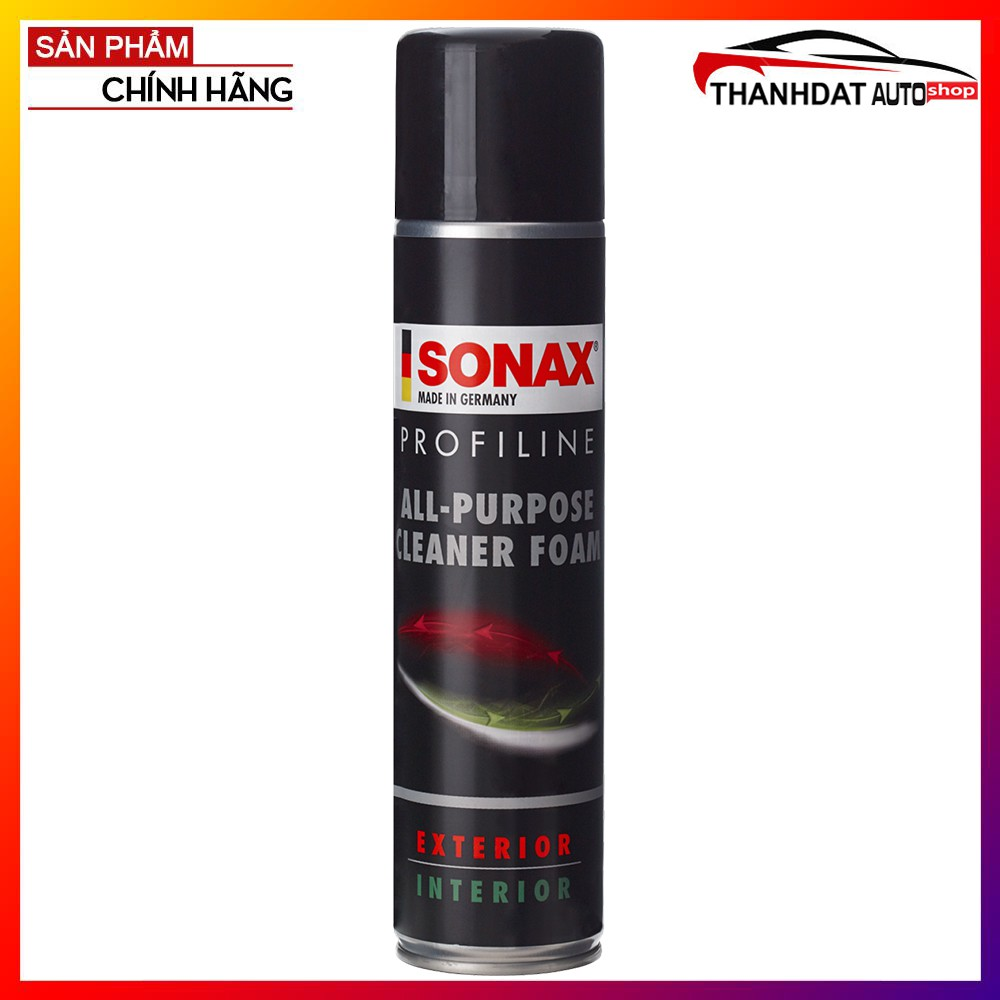 Bọt Làm Sạch Nội Thất Ô Tô Sonax All-Purpose Cleaner Foam 400ml - 13713290 , 2008968142 , 322_2008968142 , 200000 , Bot-Lam-Sach-Noi-That-O-To-Sonax-All-Purpose-Cleaner-Foam-400ml-322_2008968142 , shopee.vn , Bọt Làm Sạch Nội Thất Ô Tô Sonax All-Purpose Cleaner Foam 400ml
