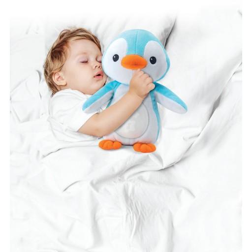 Chim cánh cụt ru ngủ có đèn nhạc Winfun 0160
