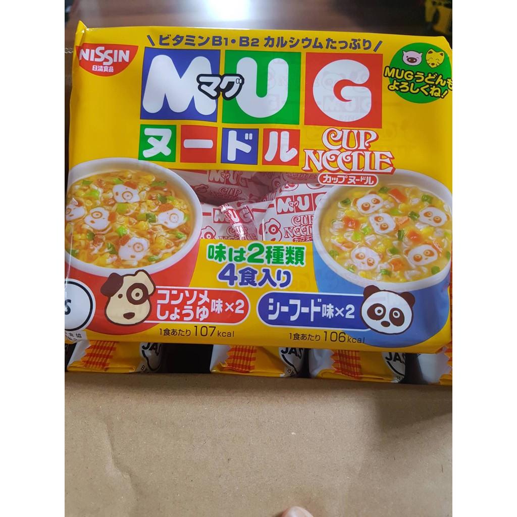 Mì ăn dặm Mug Nissin Nhật Bản