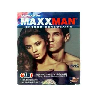 Bao cao su Maxman 6 in1 (12 BCS + 2 Gel bôi keo dài QH) thumbnail