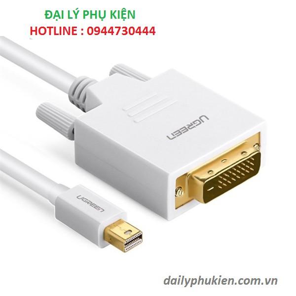 Cáp chuyển đổi Mini Displayport to DVI dài 2M Ugreen 10405