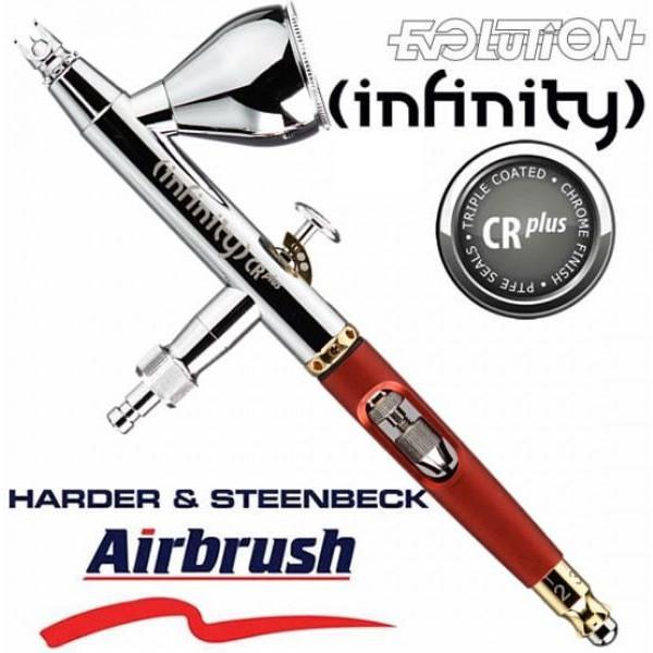 SÚNG PHUN SƠN HARDER & STEENBECK – INFINITY CR PLUS AIRBRUSH 2 IN 1