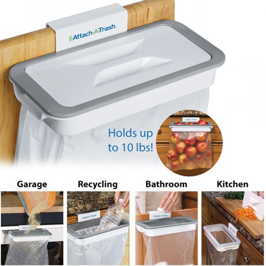 DHS Giá treo túi đựng rác thông minh Attach A Trash