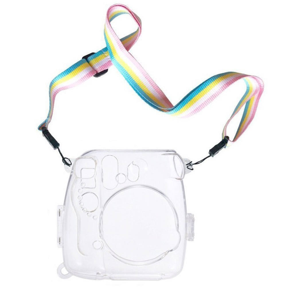 Scratch Resistant With Strap Dustproof Anti Impact Camera Case Lightweight Portable Protective For Instax Mini 8 9
