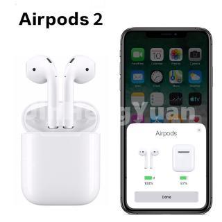 Tai Nghe Bluetooth Airpods 2 Chip Louda Cao Cấp Xuyên Âm Chống Ồn Cảm Biến Lực