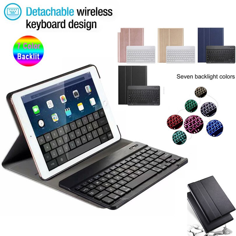 For iPad 10.2 2019 7th Generation ipad 7 10.2 7 Colors Backlit Wireless Bluetooth Keyboard Smart Tablet Cover Case - 23076167 , 5106986643 , 322_5106986643 , 940000 , For-iPad-10.2-2019-7th-Generation-ipad-7-10.2-7-Colors-Backlit-Wireless-Bluetooth-Keyboard-Smart-Tablet-Cover-Case-322_5106986643 , shopee.vn , For iPad 10.2 2019 7th Generation ipad 7 10.2 7 Colors B