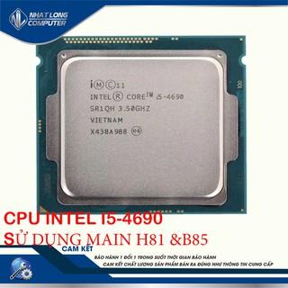 [Mã 157ELSALE hoàn 7% đơn 300K] CPU Intel Core I5 4690 (TRAY)