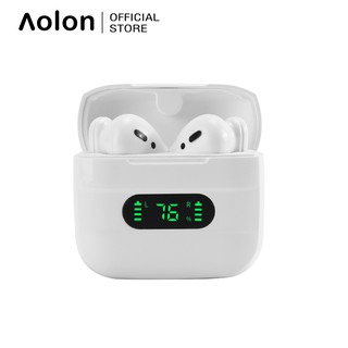 Tai Nghe Không Dây Aolon Tws V12 Bluetooth V5.0 Âm Thanh Hifi 9d Cảm Ứng Chạm Thông Minh