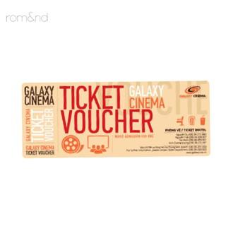 [Mã FMCGMALL - 8% đơn 250K] (HB Gift) Voucher Xem Phim Galaxy Cinema 3g