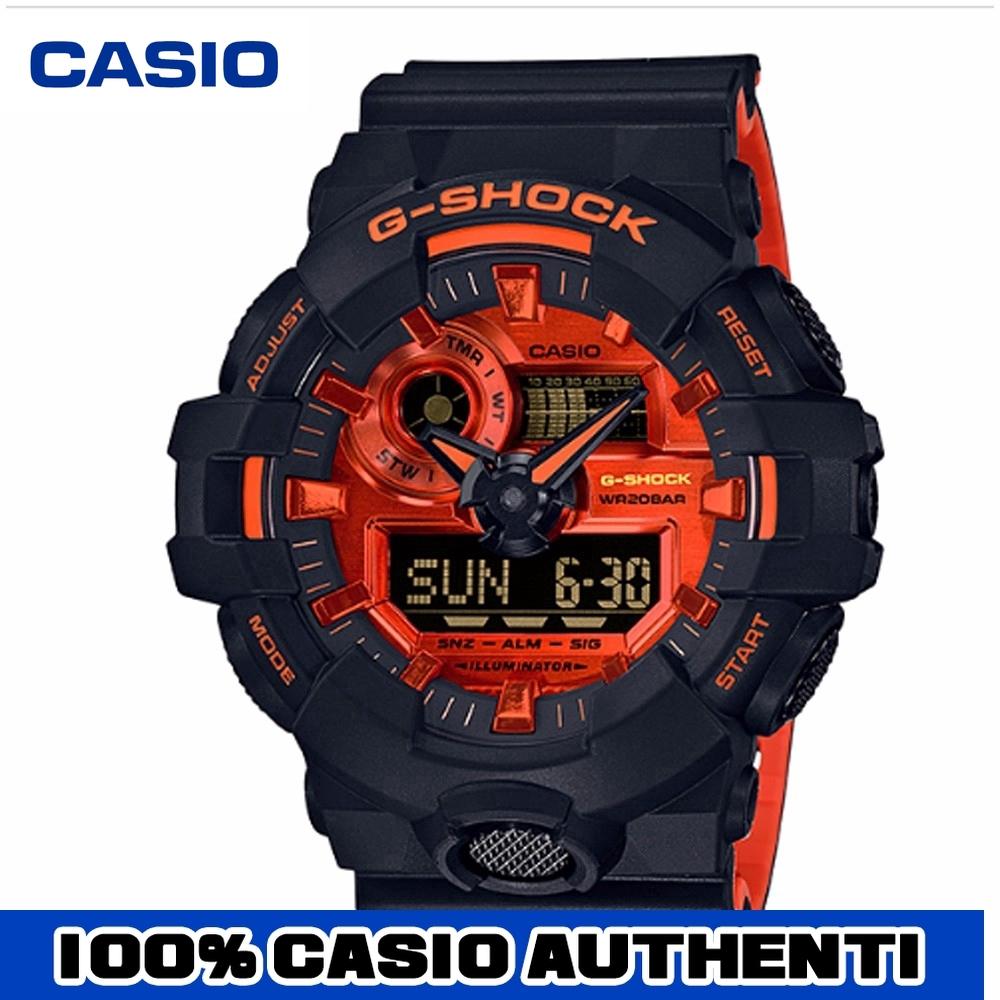 Authentic Casio G-Shock GA-700BR-1A Men Fashion Digital Sport Watch Waterproof