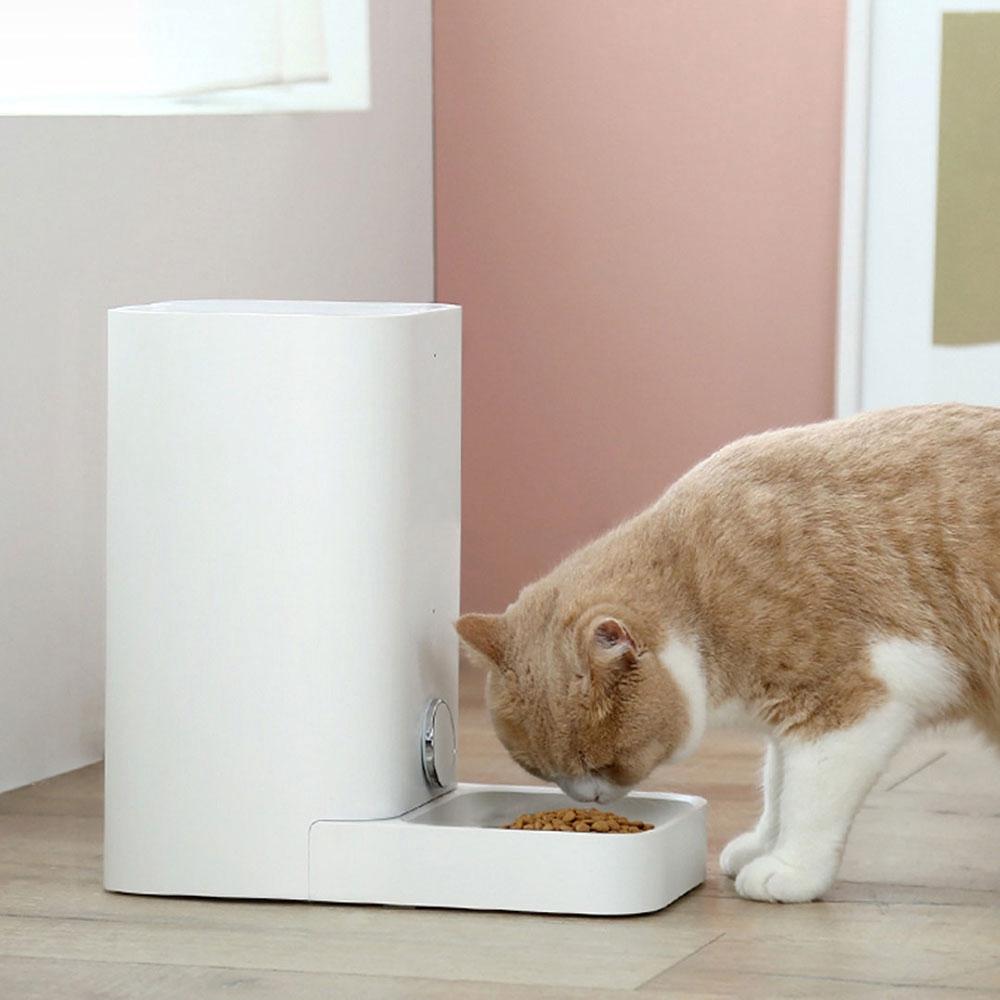 Smart Dog Cat Feeder Cat Food Feeder Infrared Sensor Mobile Phone Control Pet Product Pet Mat