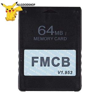 Thẻ Nhớ Fmcb Free Mcboot Card V1.953 Cho Sony Playstation2 Ps2 8mb 16mb 32mb 64mb thumbnail