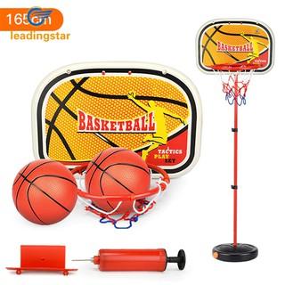 Children Inside and Outside Portable Adjustable Basketball Backboard Stand Hoop