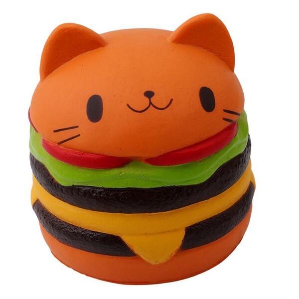 Squishy bánh hamburger bao bì