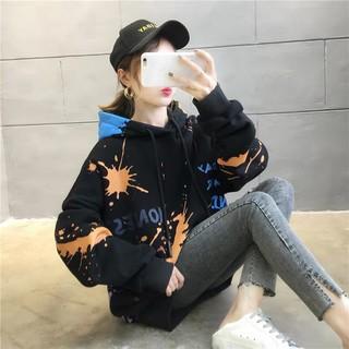Áo hoodie nam nữ chấm loang 2020 Vương Anh Shop