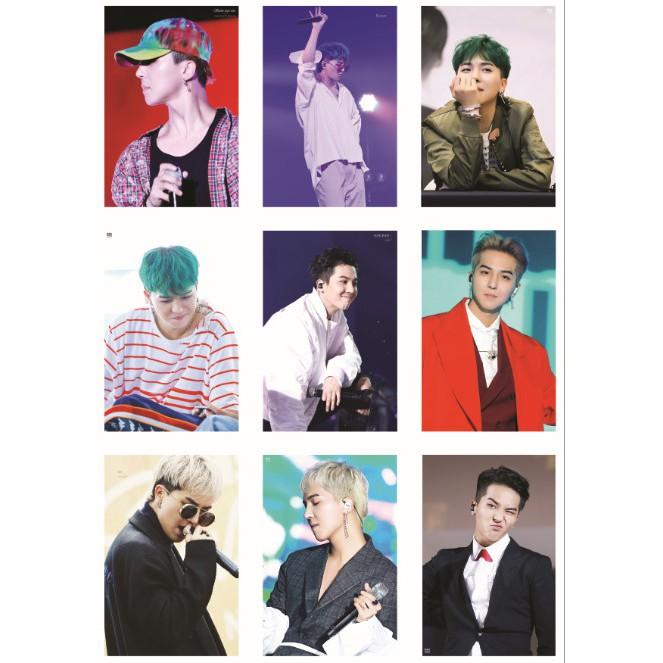Lomo card ảnh thành viên WINNER - SONG MINO full 63 ảnh
