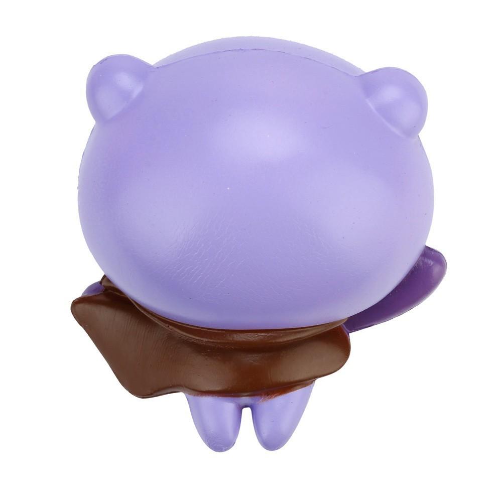 Đồ chơi xốp squishy giảm stress hình gấu siêu nhân dễ thương cho bé mã SPES5891