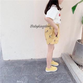 [Hàng cao cấp] [Hàng TQXK] – quần sooc Mickey style hàn bé trai , bé gái