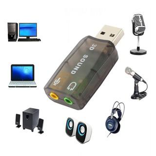 TR &Card USB chuyển đổi âm thanh sang jack 3.5mm