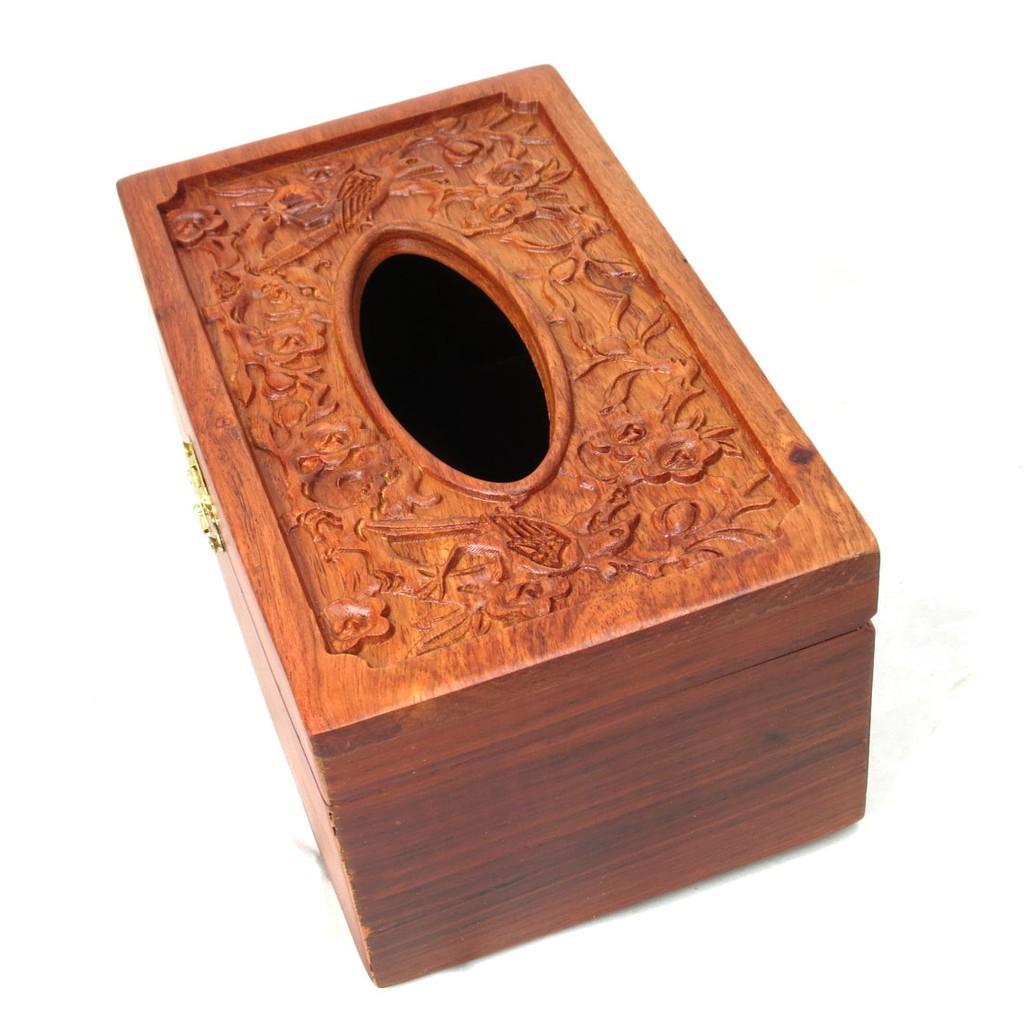 Hộp đựng giấy ăn bằng gỗ điêu khắc cao cấp - 2681468 , 276603666 , 322_276603666 , 110000 , Hop-dung-giay-an-bang-go-dieu-khac-cao-cap-322_276603666 , shopee.vn , Hộp đựng giấy ăn bằng gỗ điêu khắc cao cấp