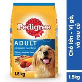 [Mã 157FMCGSALE giảm 8% đơn 500K] thức ăn cho chó lớn vị gà rau củ gói 1.5kg thumbnail