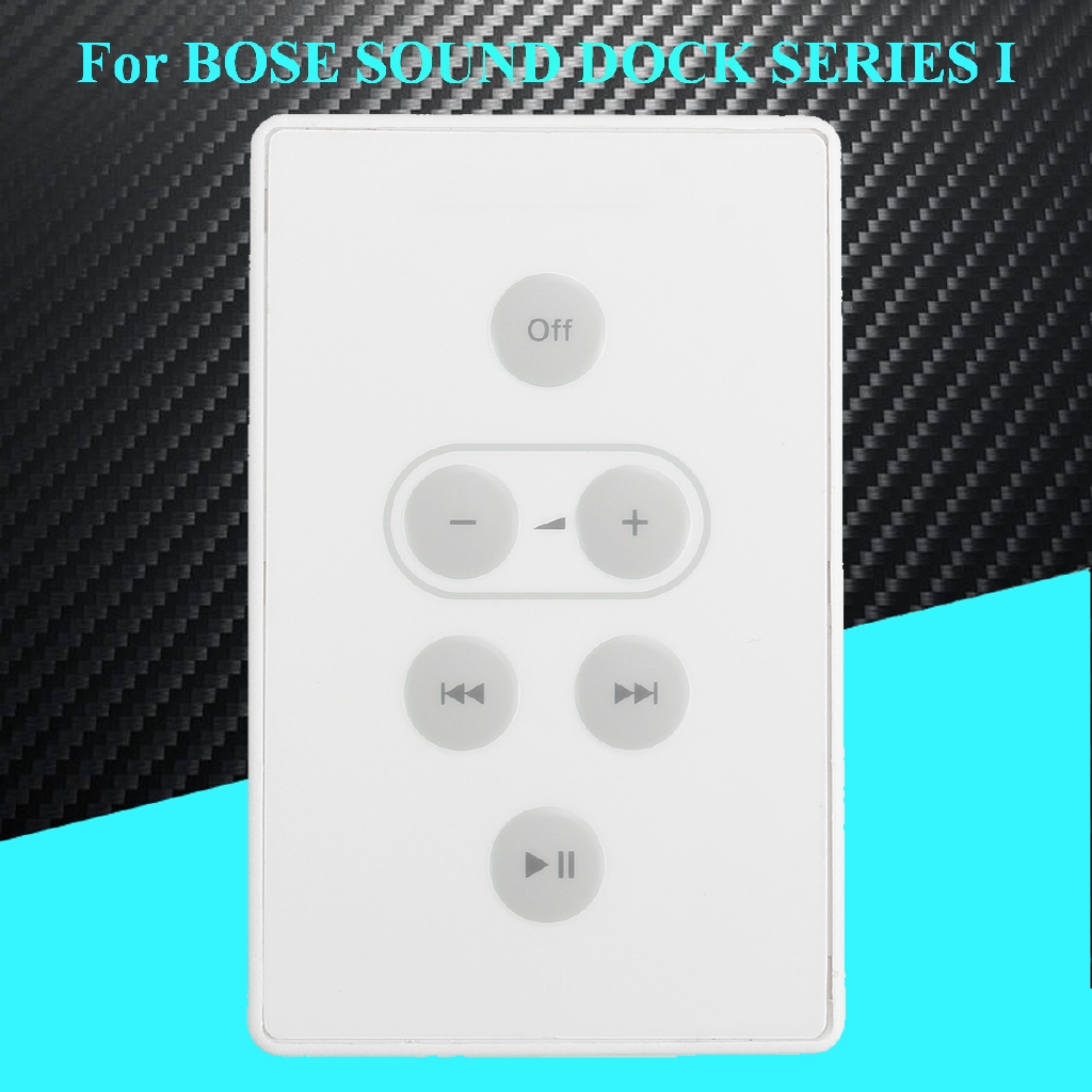 White Replacement Remote Control for Bose Sound Dock